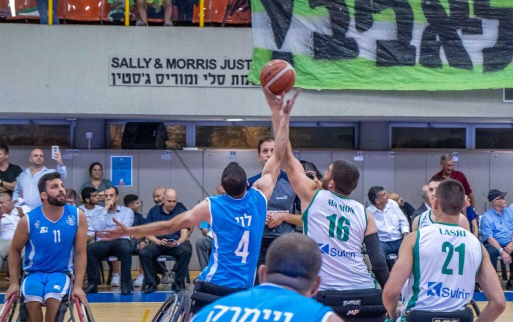 National Wheelchair Basketball Cup hosted at Beit Halochem Tel Aviv